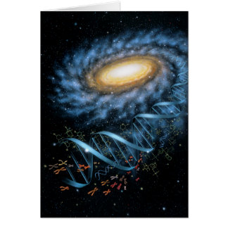 DNA Galaxy Card