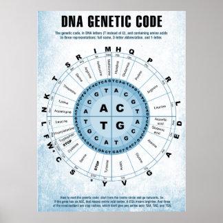 DNA Genetic Code Chart