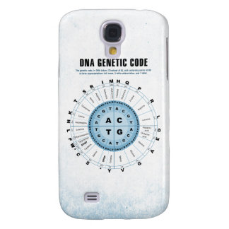 DNA Genetic Code Chart Galaxy S4 Case