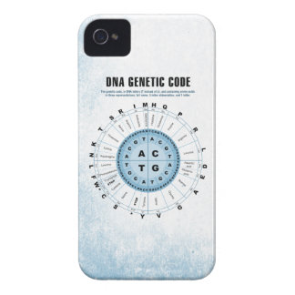 DNA Genetic Code Chart iPhone 4 Case-Mate Cases
