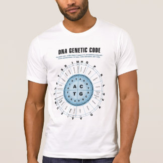 DNA Genetic Code Chart T-Shirt