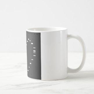 DNA heart on agarose gel Basic White Mug