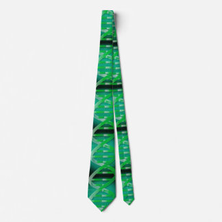 DNA ID Green Tie