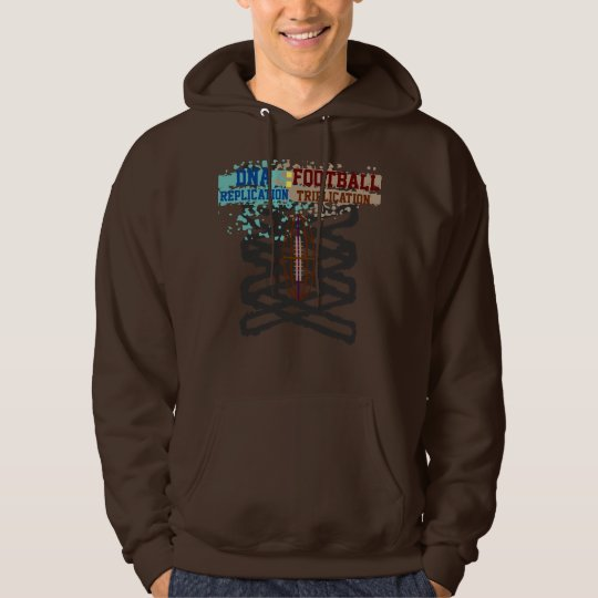 DNA replication : FOOTBALL triplication sweatshirt