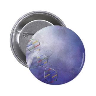 DNA SCIENCE 6 CM ROUND BADGE