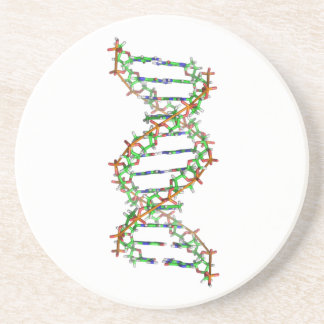 DNA - science/scientist/biology Sandstone Coaster