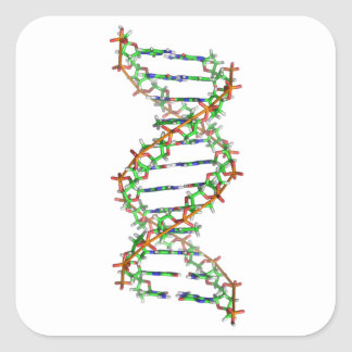 DNA - science/scientist/biology Square Sticker