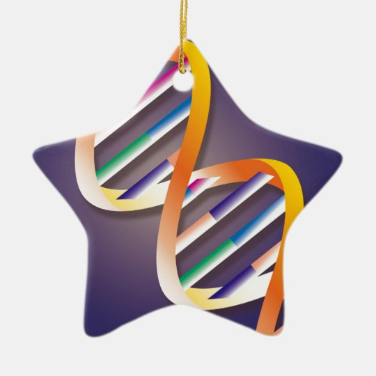 DNA Spotlight Christmas Ornament