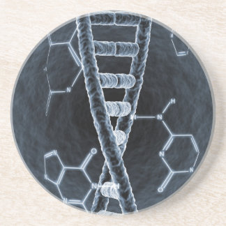 DNA strand Drink Coasters