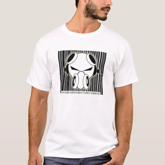 Dnb Binary Barcode T-Shirt