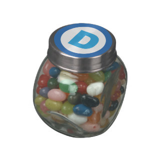DNC D SYMBOL - png Jelly Belly Candy Jars