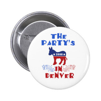 DNC Denver Button