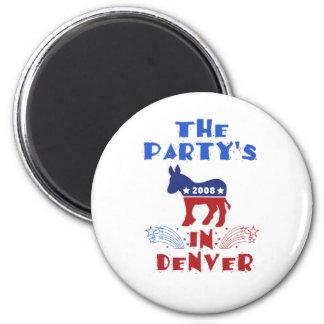 DNC Denver Magnet