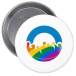 DNC PRIDE 2012 BUTTONS