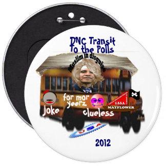 DNC Transit 6 Cm Round Badge