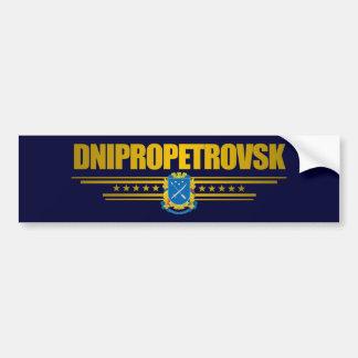 """""""Dnipropetrovsk COA"""" Bumper Sticker"""