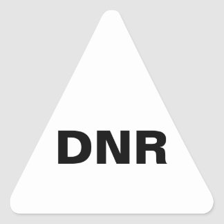 dnr sticker