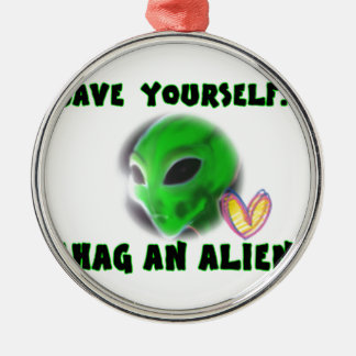 DO AN ALIEN CHRISTMAS ORNAMENT