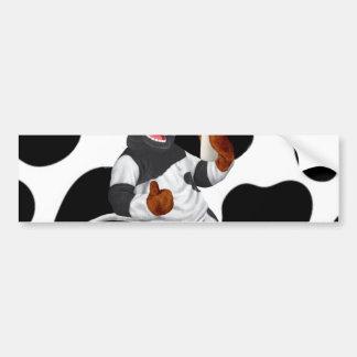 Do Cows Drink Milk Cow With Milk Bottle Bumper Sticker