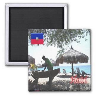 DO - Dominican Republic - Haití - Playa Square Magnet