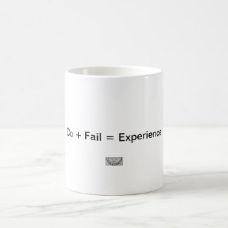 Do + Fail = Experience Classic White Coffee Mug