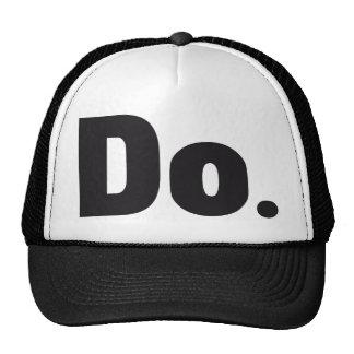 DO TRUCKER HAT