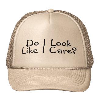 Do I Look Like I Care Mesh Hat