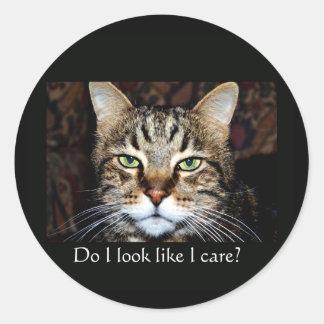 Do I look like I care? Stickers