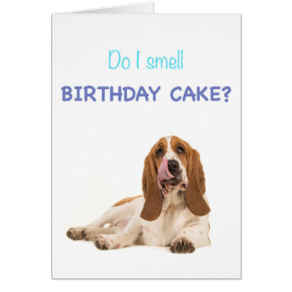 Do I smell birthday cake? Card