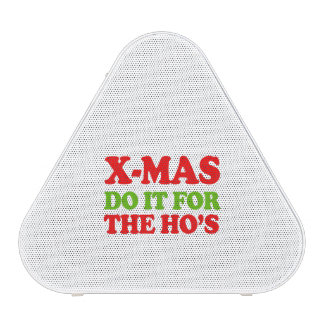 Do it for the hos -- Holiday Humor Bluetooth Speaker