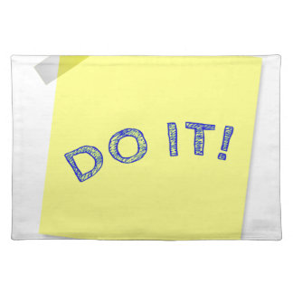 Do it! placemat
