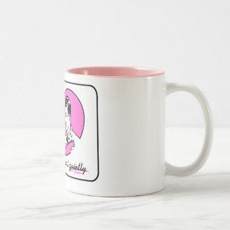 Do it Quietly Two-Tone Coffee Mug