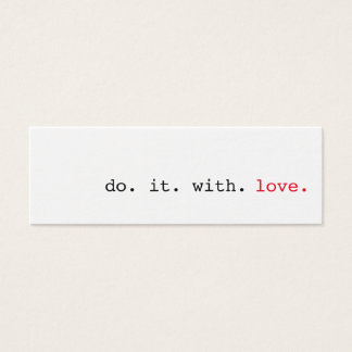 Do It With Love Random Acts Of Kindness Cards