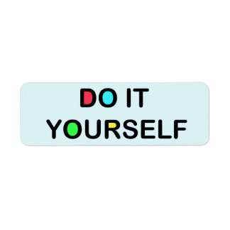 """DO IT YOURSELF ~ Address / Ship Labels 3/4""""x2 1/4"""