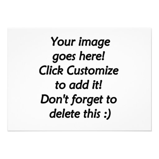 Do it yourself custom product blank template personalized announcements