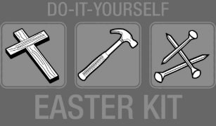 Anti easter gifts gift ideas zazzle uk do it yourself easter kit t shirt solutioingenieria Gallery