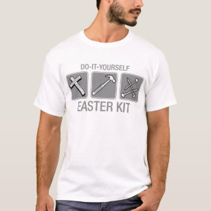 Funny christian easter t shirts shirt designs zazzle uk do it yourself easter kit t shirt solutioingenieria Gallery