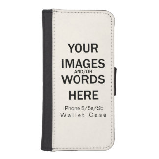 Do It Yourself - iPhone 5/5s/SE Wallet Case