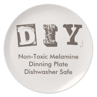 Do It Yourself - Melamine Plate