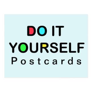 DO IT YOURSELF - Postcard Christmas