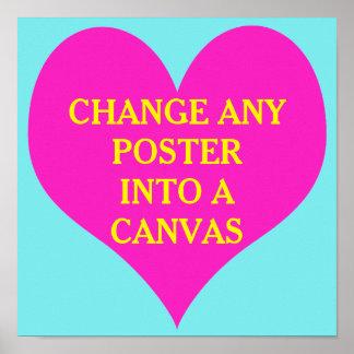 DO IT YOURSELF ~ Poster Wedding Heart Romance