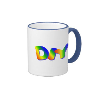 Do It Yourself Ringer Mug