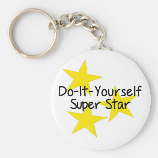 Do-It-Yourself Super Star Keychains