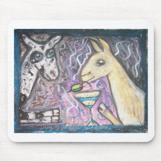 Do Nigerian Dwarf Goats Have Martinis? Mouse Pad