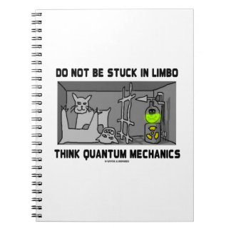 Do Not Be Stuck In Limbo Think Quantum Mechanics Notebook