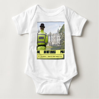 Do Not Cross Baby Bodysuit