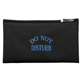 Do Not Disturb - Black Background Cosmetic Bag