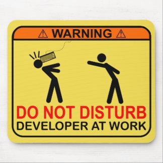 DO NOT DISTURB - DEVELOPER MOUSE MAT