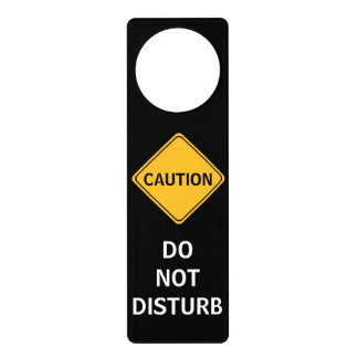 Do Not Disturb Door Hanger Sign