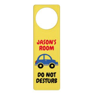 Do not disturb door hanger sign for kid's room